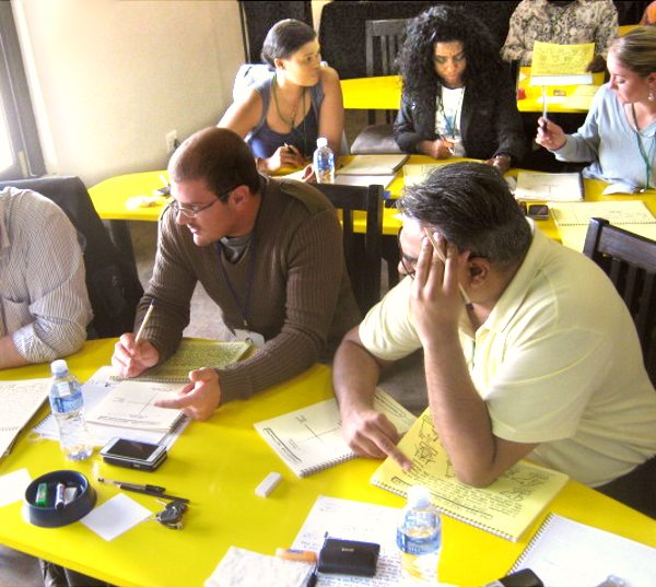 Participants at an Intensive Weekend Workshop in Project Management in Midrand, Johannesburg (Gauteng)