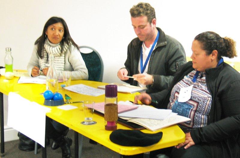 Participants at a Project Management Workshop in Stellenbosch