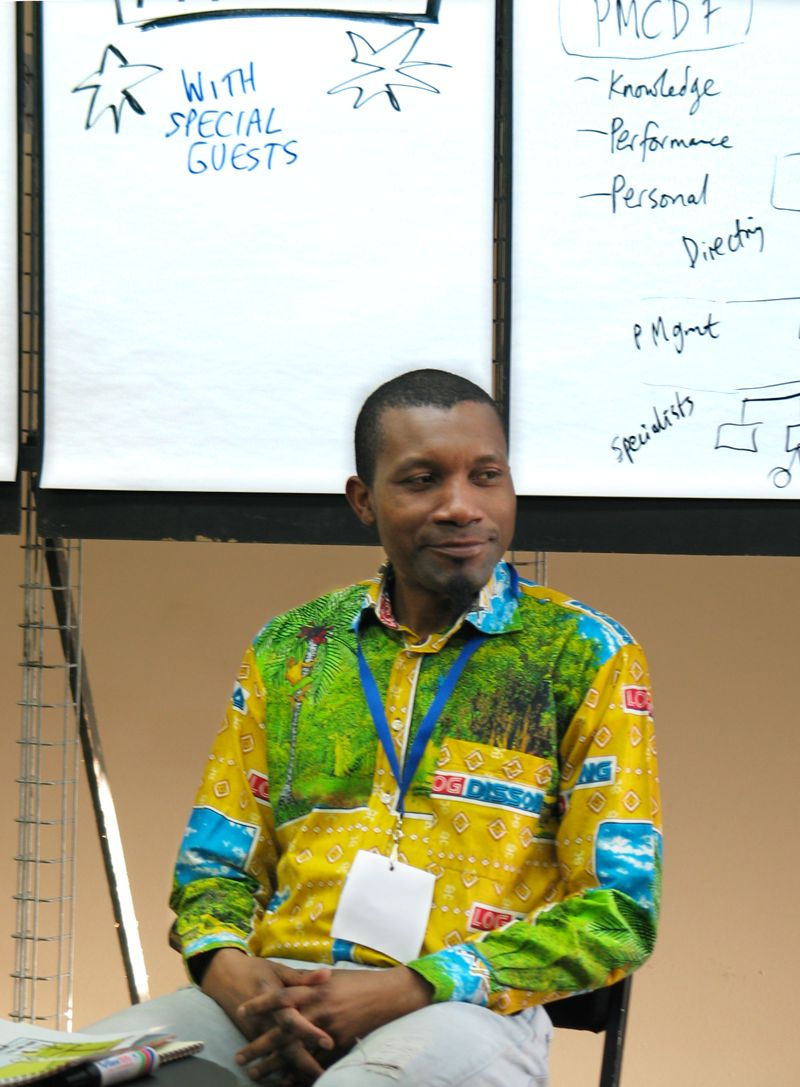 Emmanuel Dikongue at the Intensive Weekend Workshop