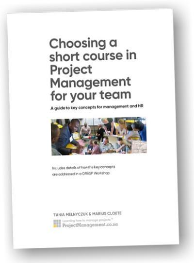 Choosing a Short Course in Project Management for Your Team - Document