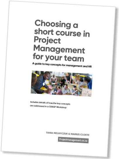 Choosing a short course in Project Management for your team - Document cover