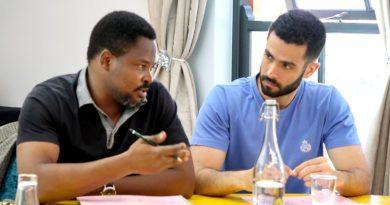 Adesegun Adekoya at the Intensive Workshop in Project Management